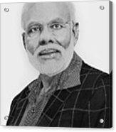 Narendra Modi Acrylic Print