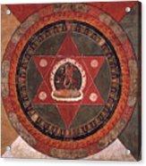 Naropa Mandala Acrylic Print