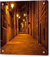 Narrow Alley  Acrylic Print