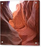 Narrow Canyon Xvii Acrylic Print