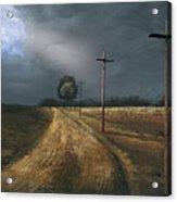 Narrow Is The Road Acrylic Print