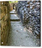 Narrow Mayan Road Acrylic Print