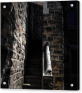 Narrow Staircase Acrylic Print