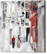 Narrow Street Acrylic Print