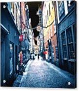 Narrow Street Ready Acrylic Print