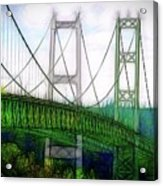 Narrows Bridge Abstract Acrylic Print
