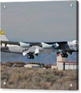 Nasa Boeing Nb-52b Stratofortress With Hyper X Acrylic Print by Brian Lockett