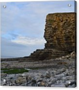 Nash Point In Wales Acrylic Print