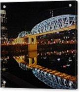 Nashville Bridge Acrylic Print