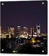 Nashville Cityscape 4 Acrylic Print