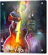 Nashville Nights 01 Acrylic Print