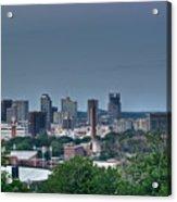 Nashville Skyline 2 Acrylic Print