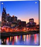 Nashville Southern Nights Acrylic Print