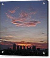 Nashville Sunrise Acrylic Print