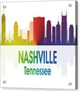 Nashville Tn 1 Vertical Acrylic Print