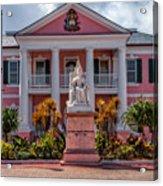 Nassau Senate Building Acrylic Print