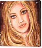 Natalie Self Portrait Acrylic Print