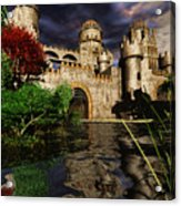 Natalie's Castle Acrylic Print