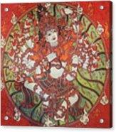 Nataraja Mural Acrylic Print