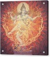 Nataraja Shiva Acrylic Print