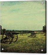 National Battlefield Park - Manassas Va Acrylic Print