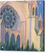 National Cathedral Acrylic Print by Don Perino