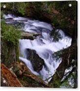 National Creek Falls 03 Acrylic Print