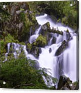 National Creek Falls 05 Acrylic Print