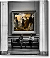 National Gallery Of Art Interiour 3 Acrylic Print
