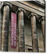 National Gallery Of Scotland  Acrylic Print
