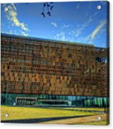 National Museum Of African American History And Culture Acrylic Print