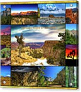 National Parks Of The West Acrylic Print