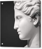 National Portrait Gallery Statue Profile Acrylic Print