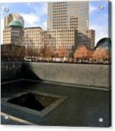 National September 11 Memorial New York City Acrylic Print