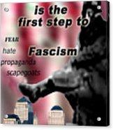 Nationalism Acrylic Print