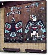 Native Alaskan Mural Acrylic Print