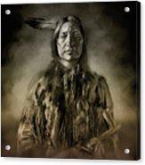 Native American Chief-scabby Bull 2 Acrylic Print