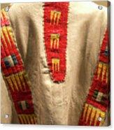 Native American Great Plains Indian Clothing Artwork 09 Acrylic Print