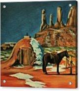 Native American Hogan Acrylic Print