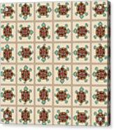 Native American Pattern Acrylic Print