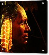 Potawatomi Chief Acrylic Print