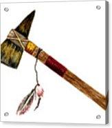 Native American Tomahawk Acrylic Print