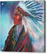 Native Blessings Acrylic Print