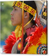 Native Indian Acrylic Print