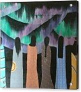 Native Northern Lights Moments Acrylic Print