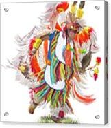 Native Rhythm Acrylic Print