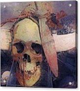 Native Skull  Acrylic Print