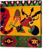 Native Tapestry Acrylic Print