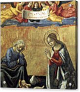 Nativity By Domenico Ghirlandaio Acrylic Print