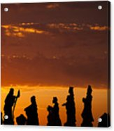 Nativity Sunrise Acrylic Print